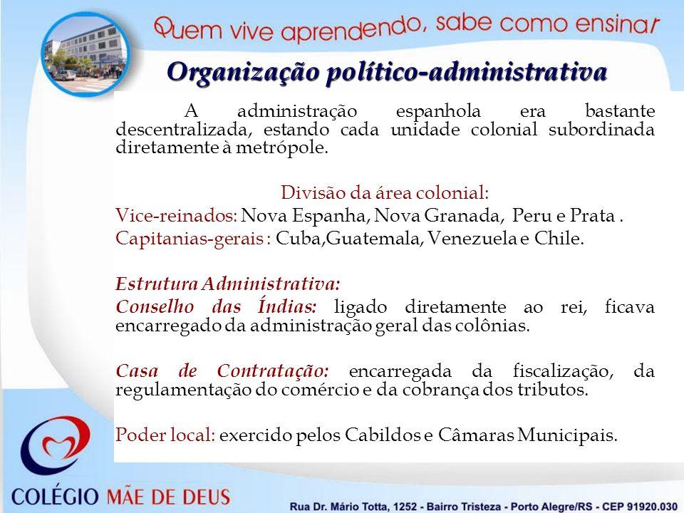 Organização político-administrativa