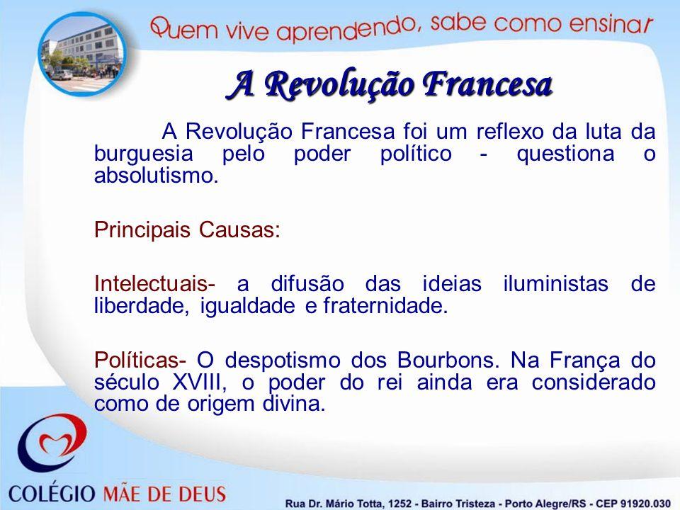 A Revolução Francesa Principais Causas:
