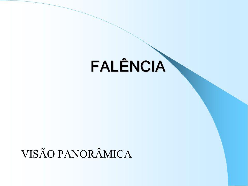 FALÊNCIA VISÃO PANORÂMICA