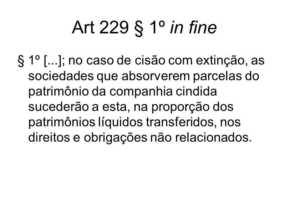 Art 229 § 1º in fine