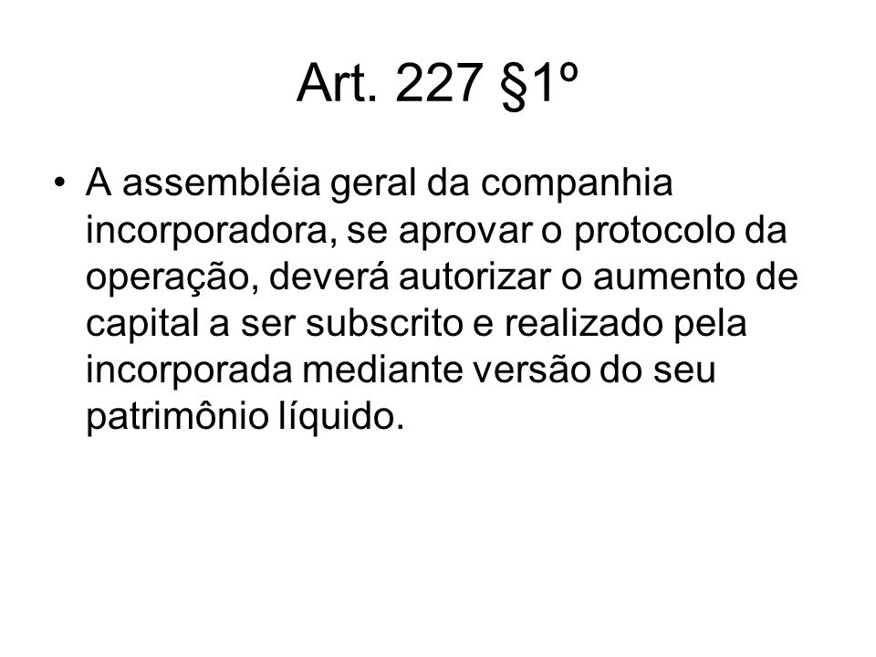 Art. 227 §1º