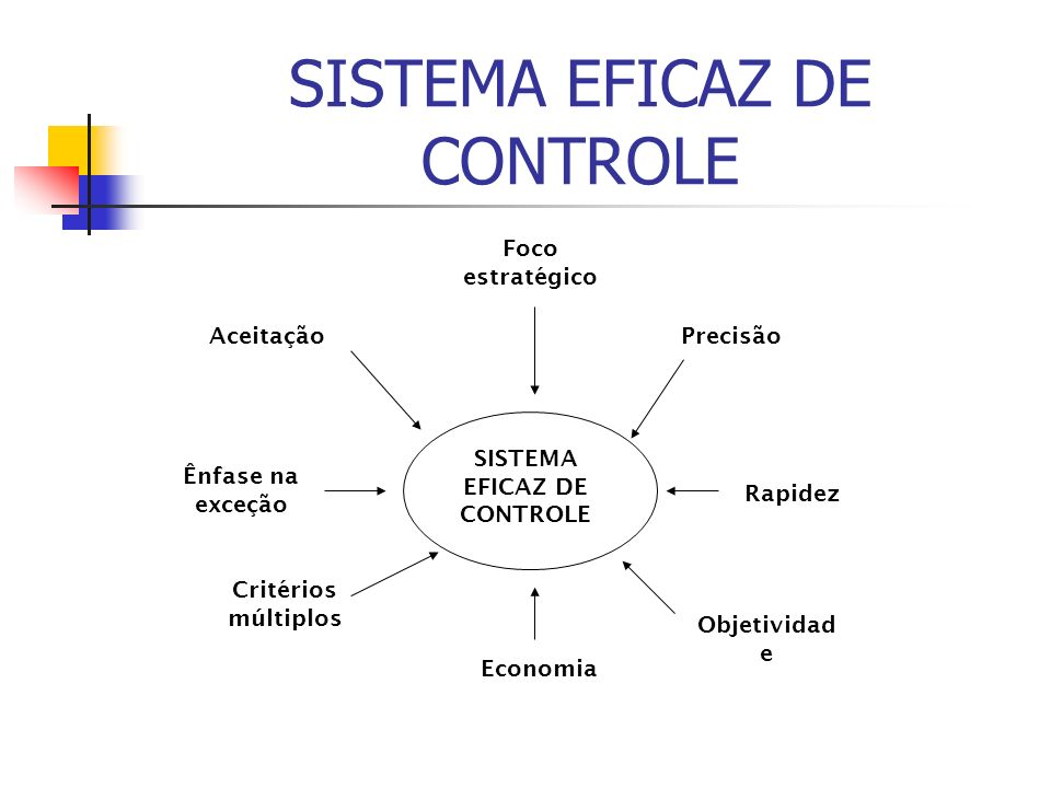 SISTEMA EFICAZ DE CONTROLE