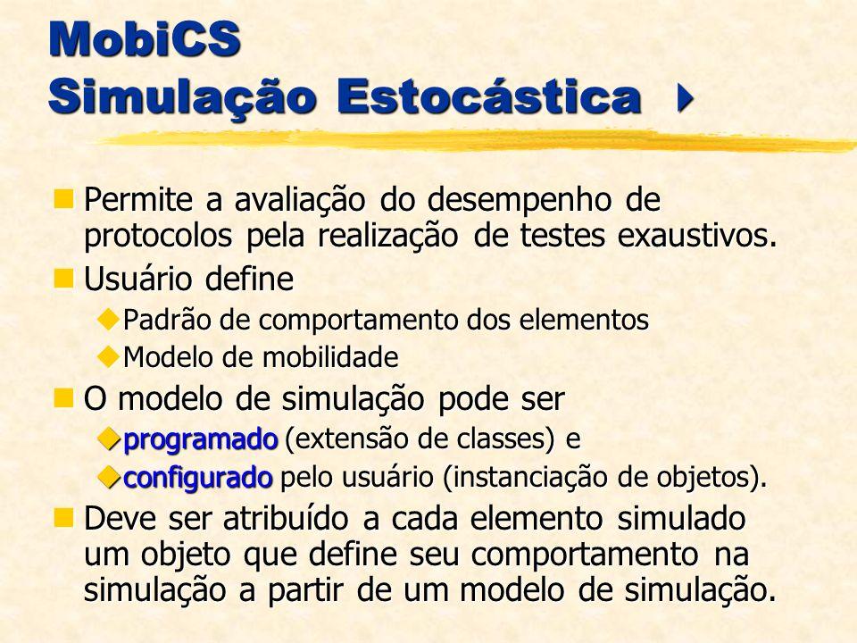 MobiCS Simulação Estocástica 