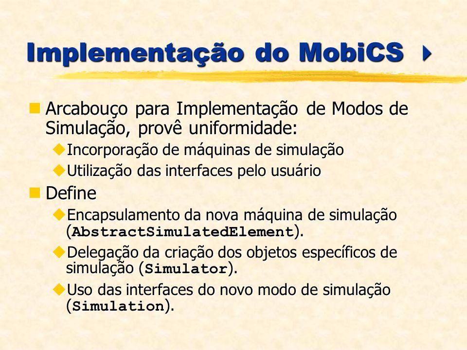 Implementação do MobiCS 
