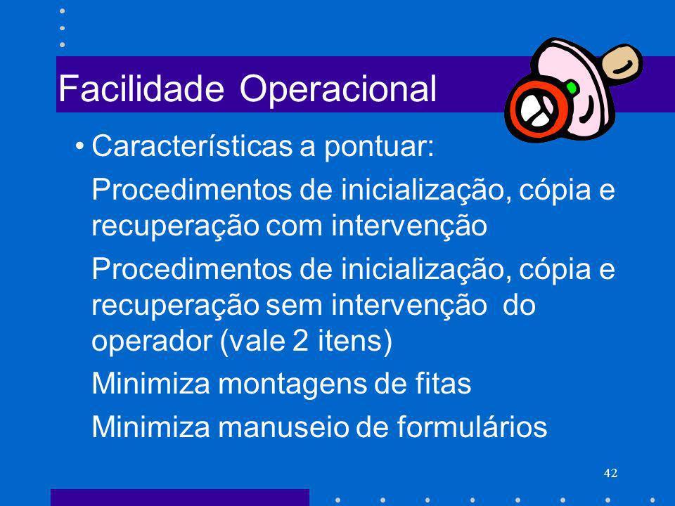 Facilidade Operacional