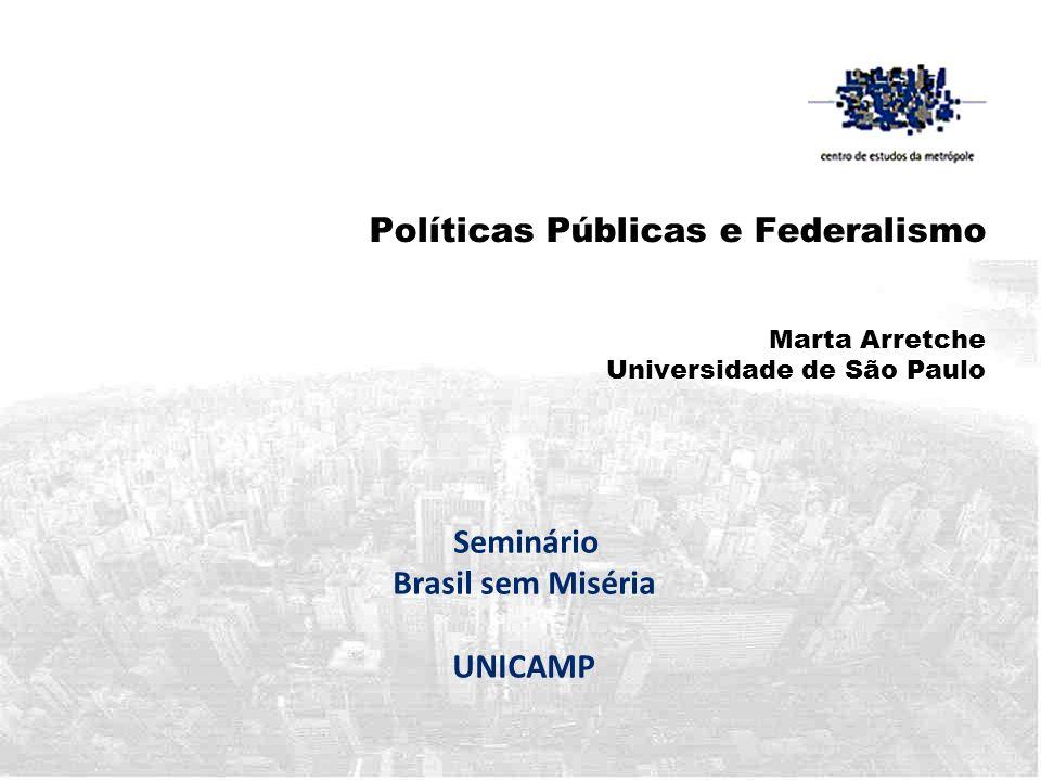 Seminário Brasil sem Miséria UNICAMP