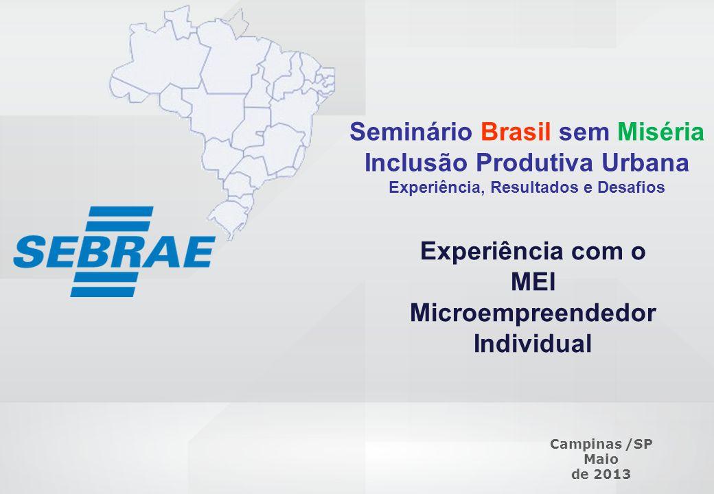 Seminário Brasil sem Miséria Inclusão Produtiva Urbana