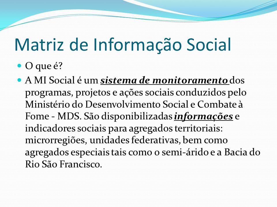 Matriz de Informação Social