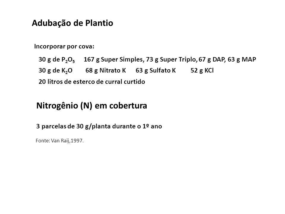 Nitrogênio (N) em cobertura