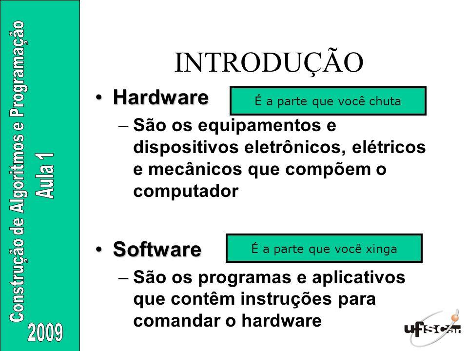 INTRODUÇÃO Hardware Software