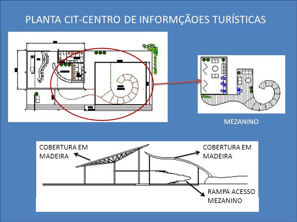 PLANTA CIT-CENTRO DE INFORMÇÃOES TURÍSTICAS