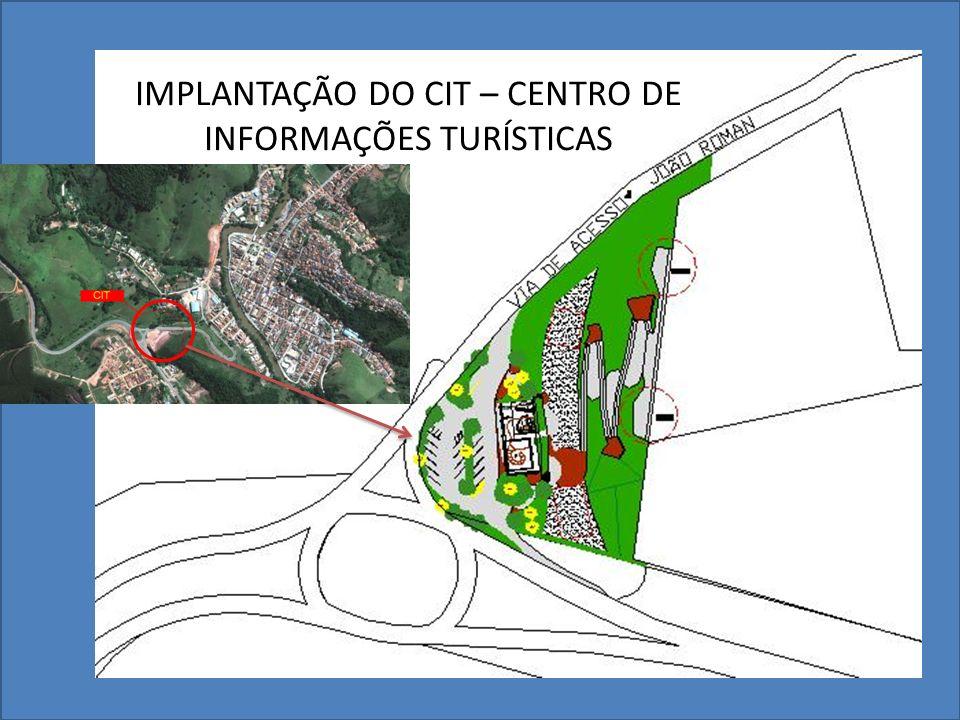 IMPLANTAÇÃO DO CIT – CENTRO DE INFORMAÇÕES TURÍSTICAS