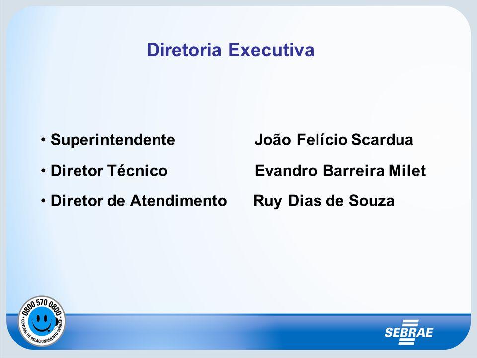 Diretoria Executiva Superintendente João Felício Scardua