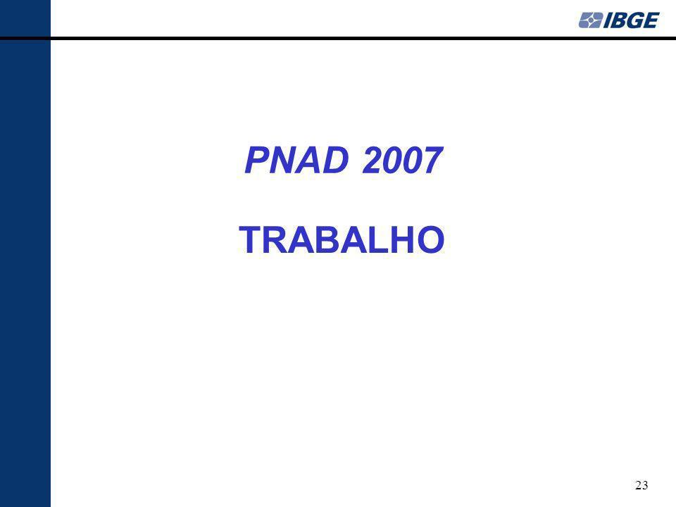 PNAD 2007 TRABALHO 23