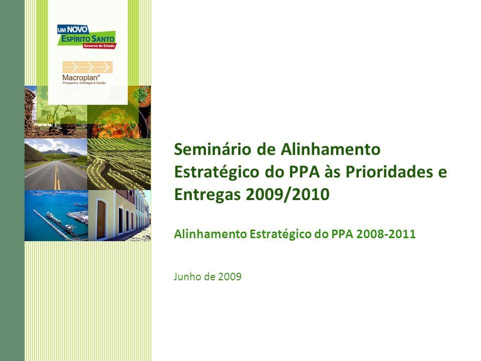 Alinhamento Estratégico do PPA 2008-2011 Junho de 2009