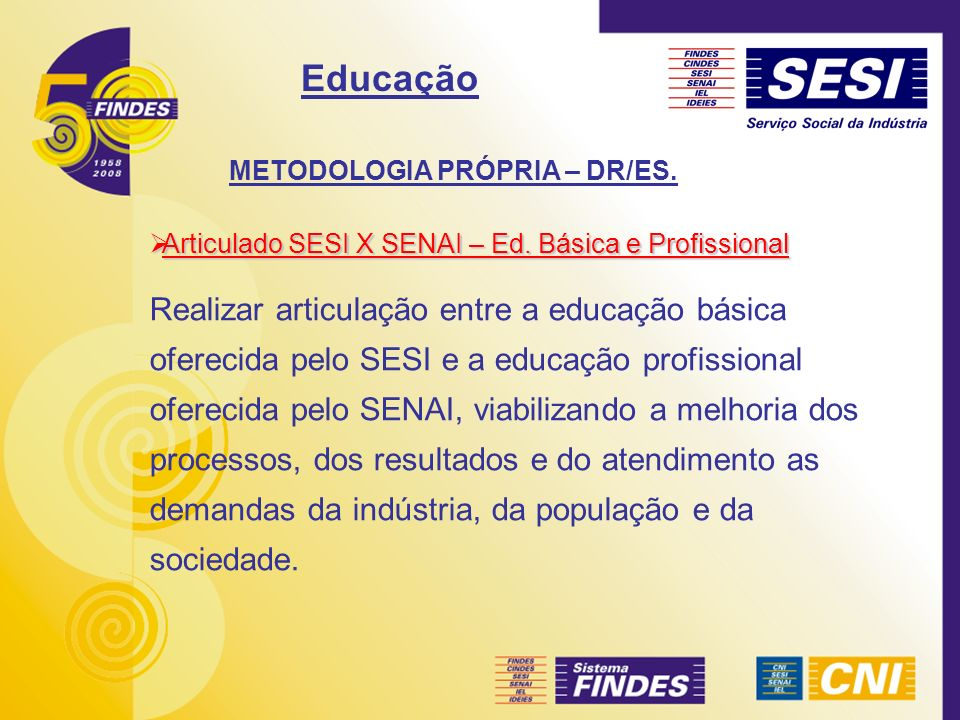 METODOLOGIA PRÓPRIA – DR/ES.