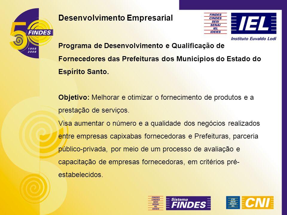Desenvolvimento Empresarial