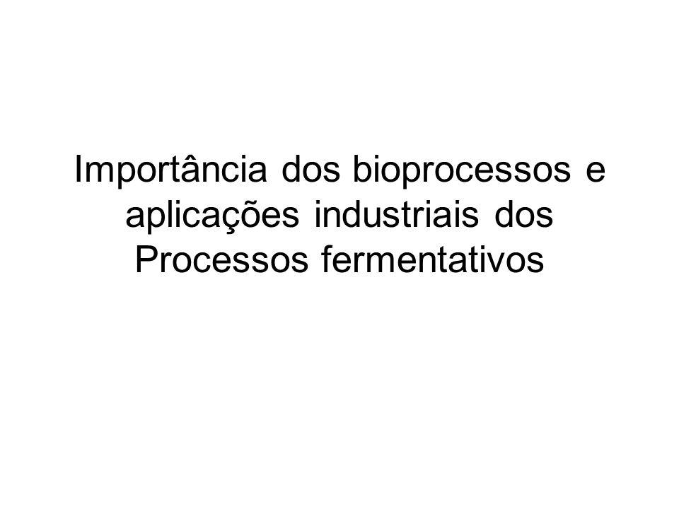 Importância dos bioprocessos e aplicações industriais dos Processos fermentativos