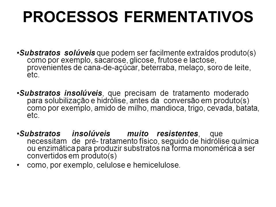 PROCESSOS FERMENTATIVOS