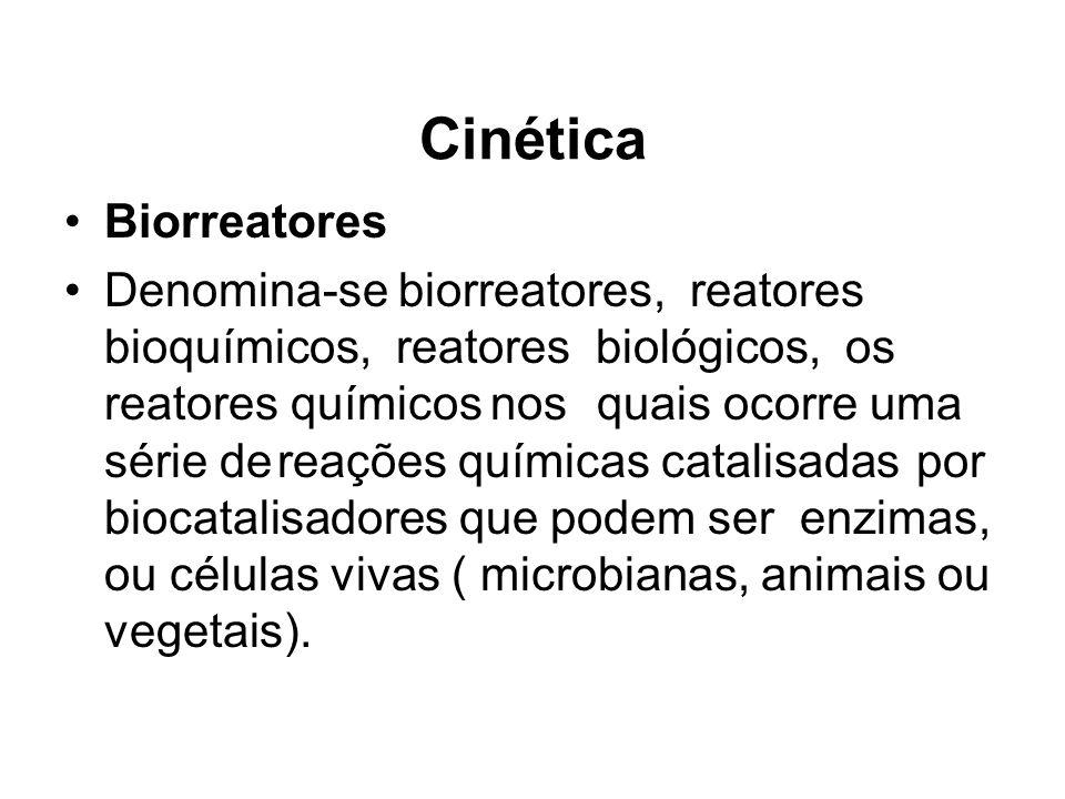 Cinética Biorreatores
