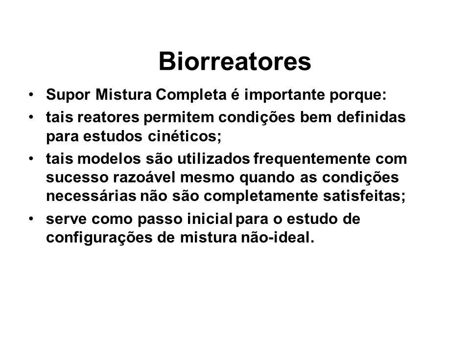 Biorreatores Supor Mistura Completa é importante porque:
