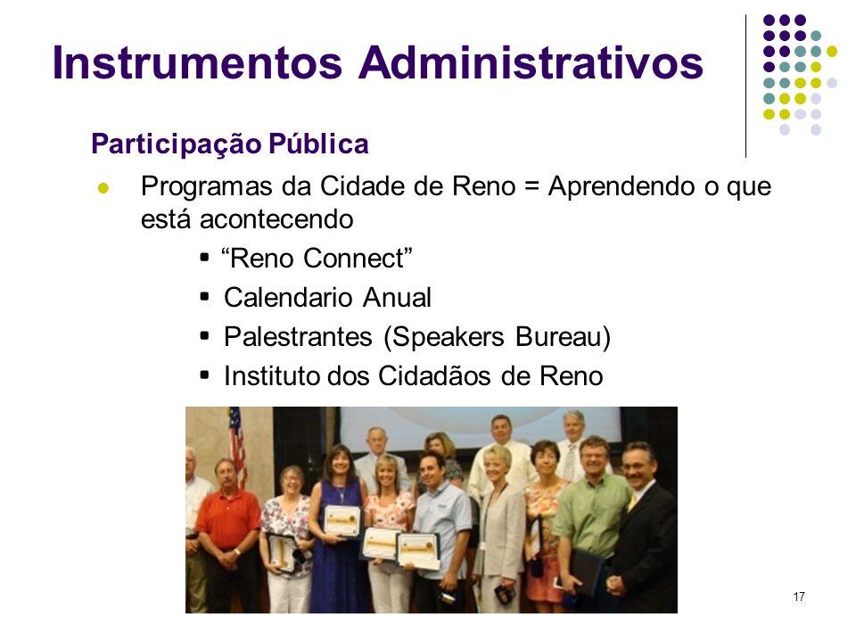 Instrumentos Administrativos
