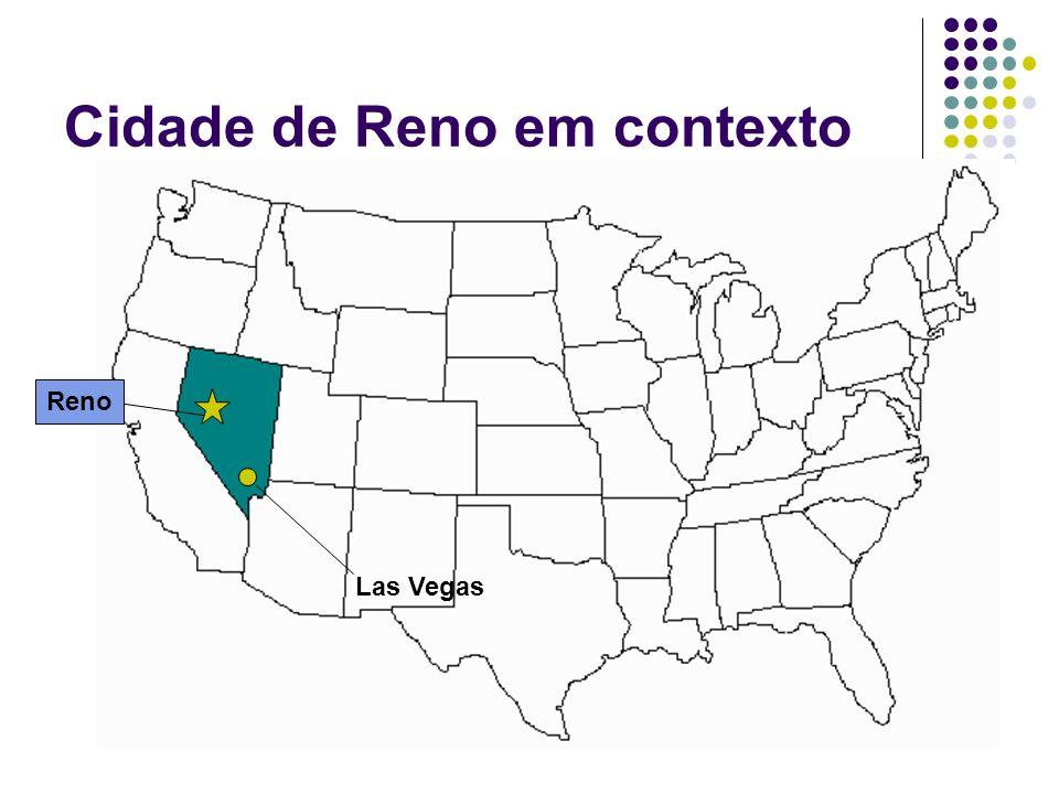 Cidade de Reno em contexto