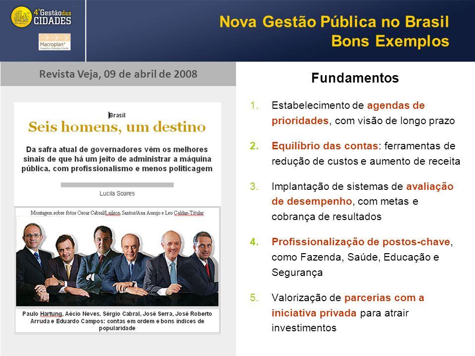 Nova Gestão Pública no Brasil Bons Exemplos