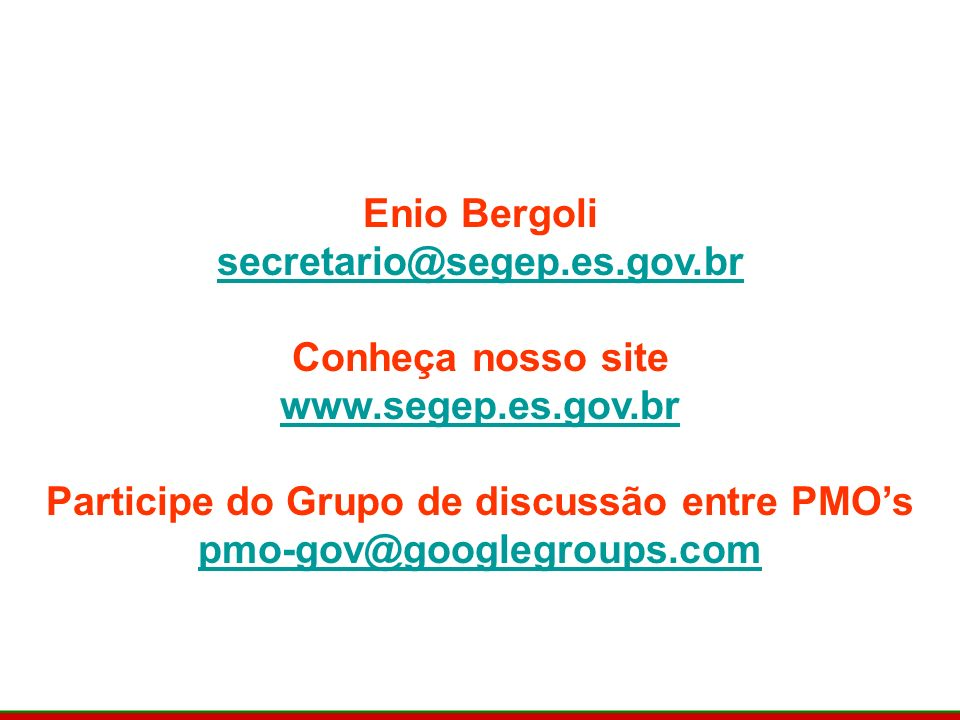 Participe do Grupo de discussão entre PMO's