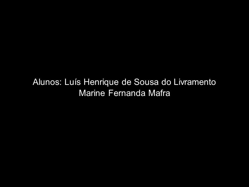 Alunos: Luís Henrique de Sousa do Livramento
