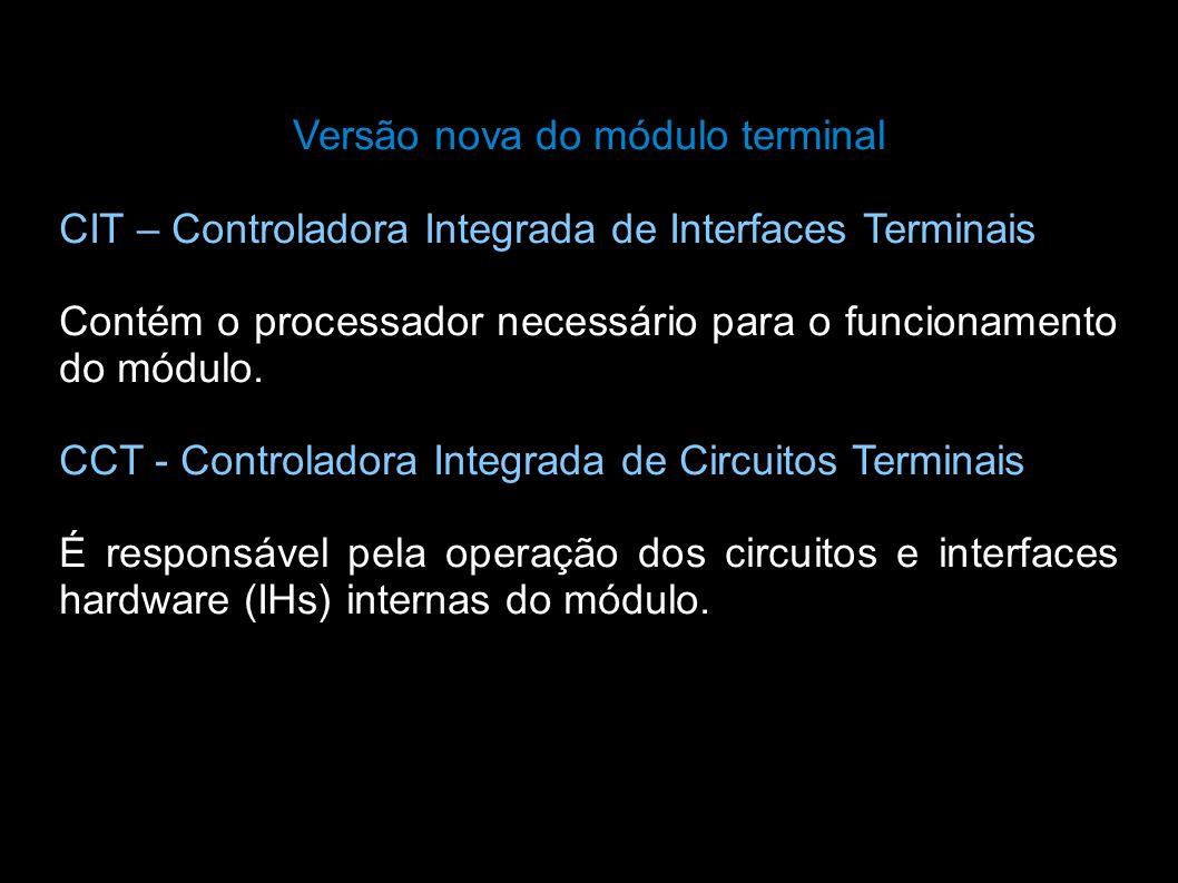 Versão nova do módulo terminal