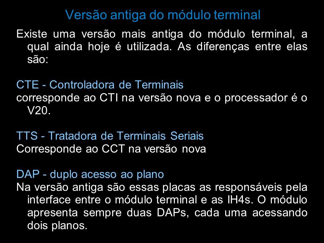 Versão antiga do módulo terminal