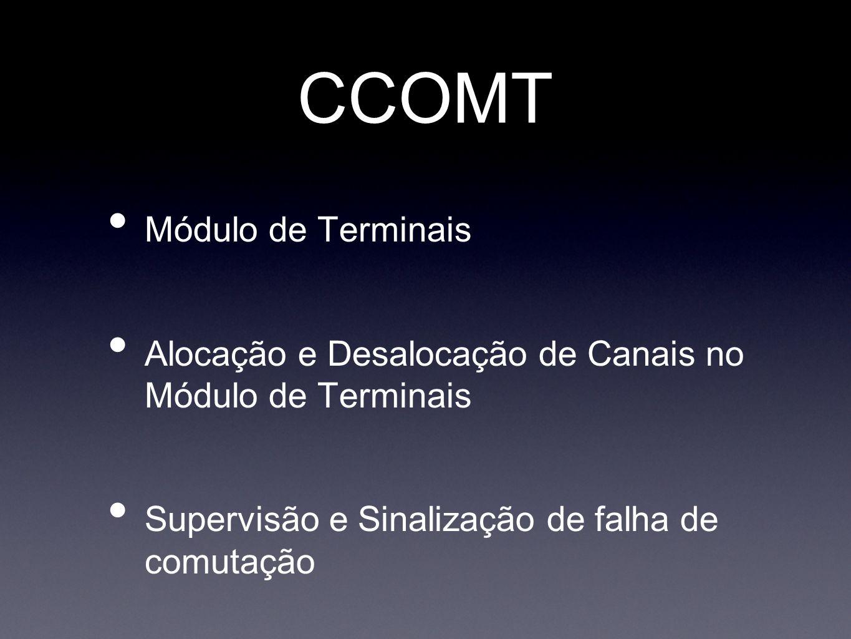 CCOMT Módulo de Terminais