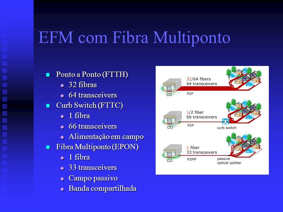 EFM com Fibra Multiponto