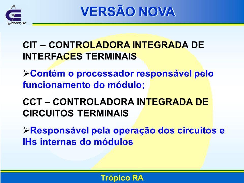 VERSÃO NOVA CIT – CONTROLADORA INTEGRADA DE INTERFACES TERMINAIS