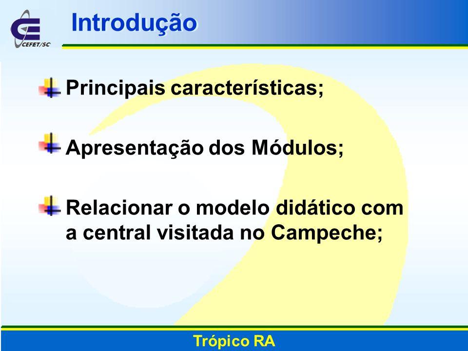 Introdução Principais características; Apresentação dos Módulos;