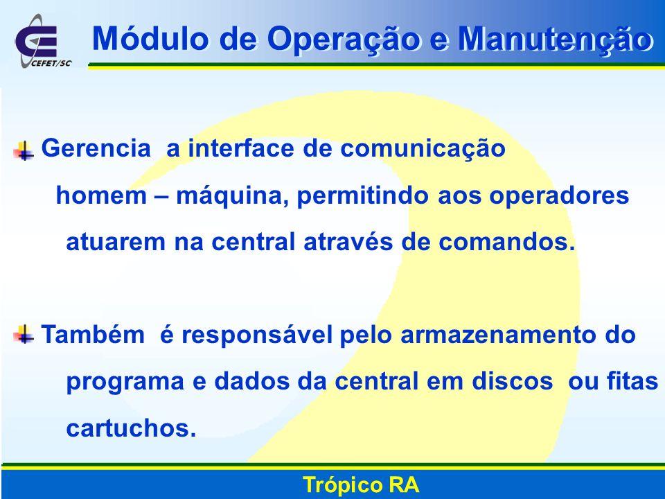 Módulo de Operação e Manutenção