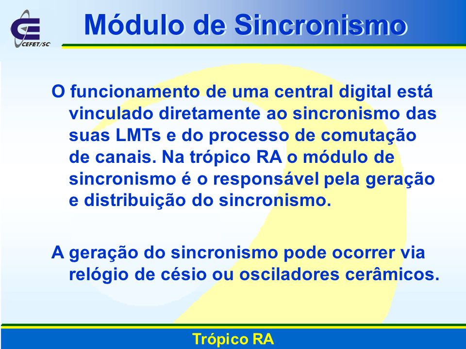 Módulo de Sincronismo