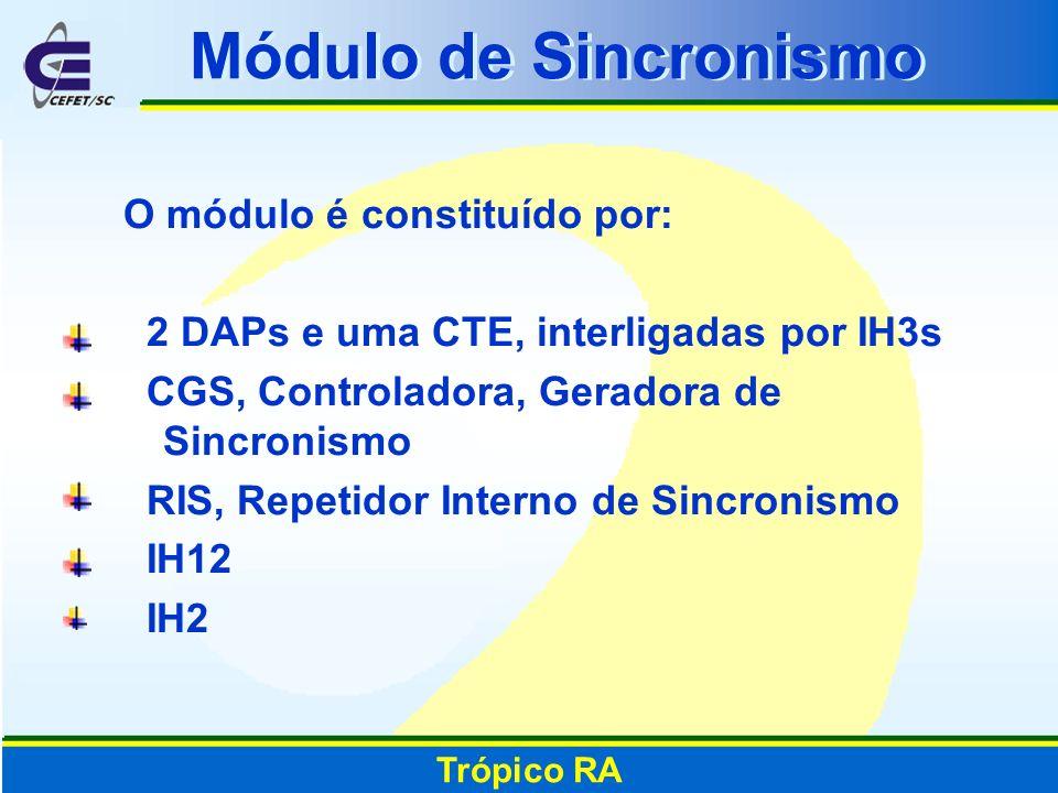 Módulo de Sincronismo O módulo é constituído por: