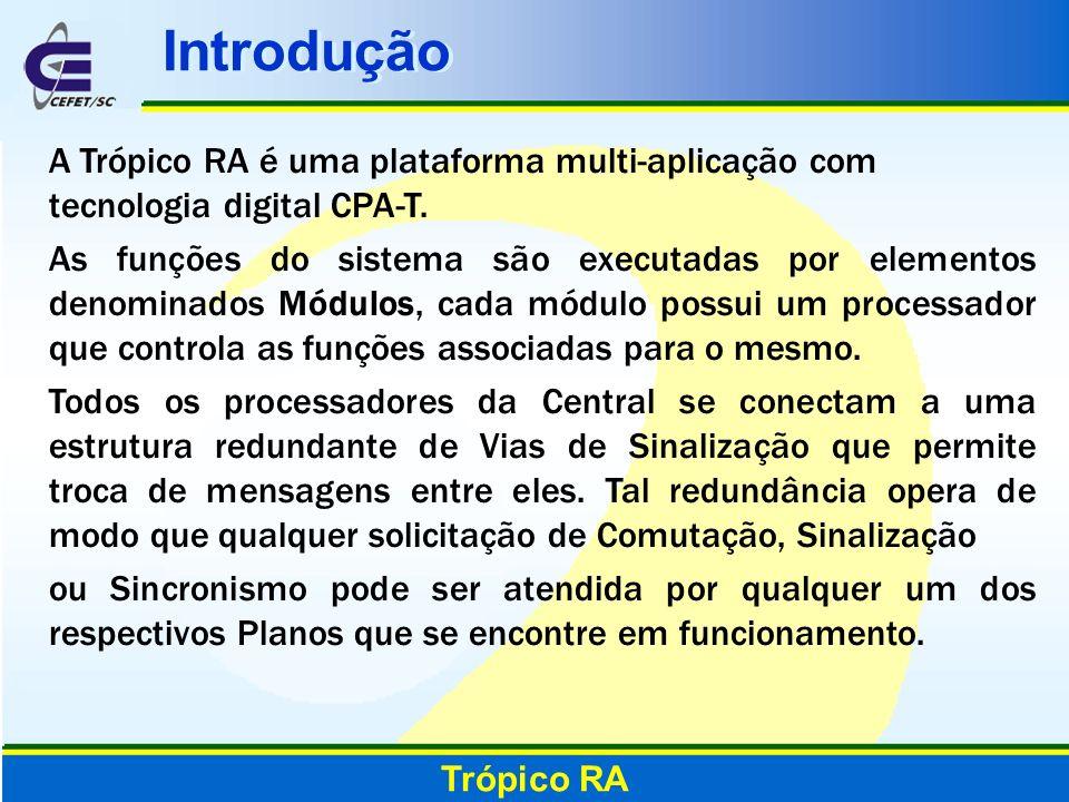 IntroduçãoA Trópico RA é uma plataforma multi-aplicação com tecnologia digital CPA-T.