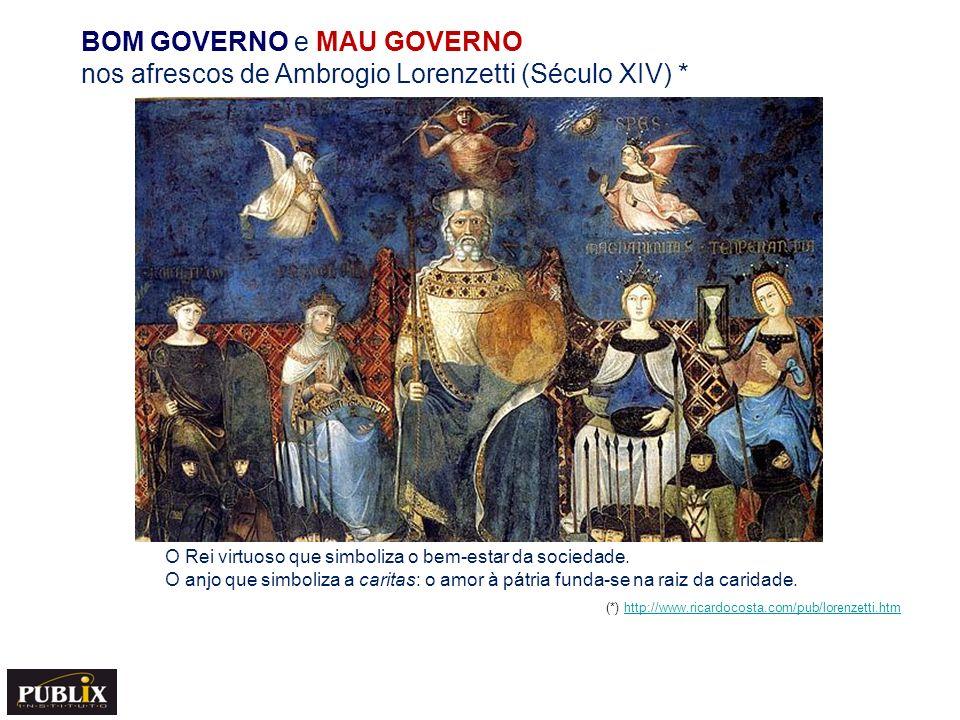 BOM GOVERNO e MAU GOVERNO nos afrescos de Ambrogio Lorenzetti (Século XIV) *