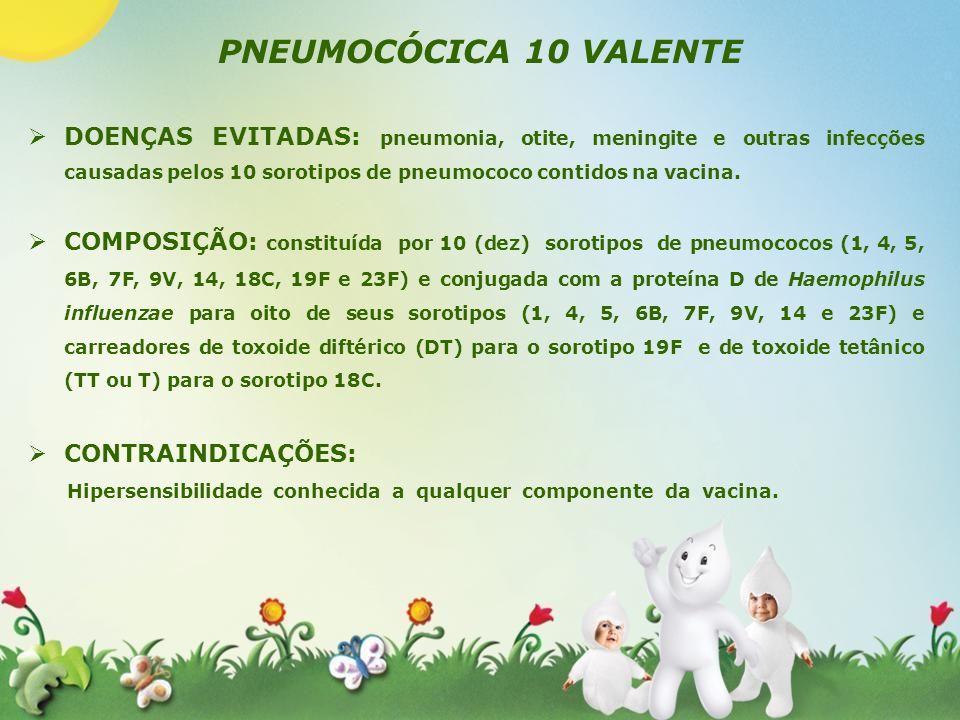PNEUMOCÓCICA 10 VALENTE