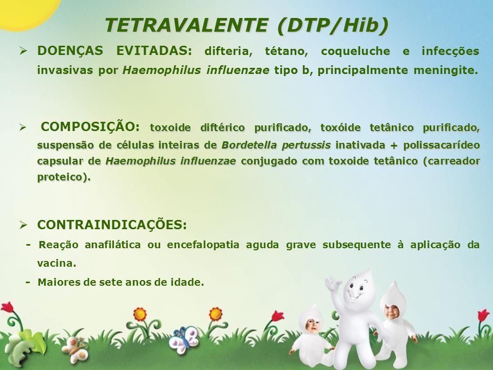 TETRAVALENTE (DTP/Hib)