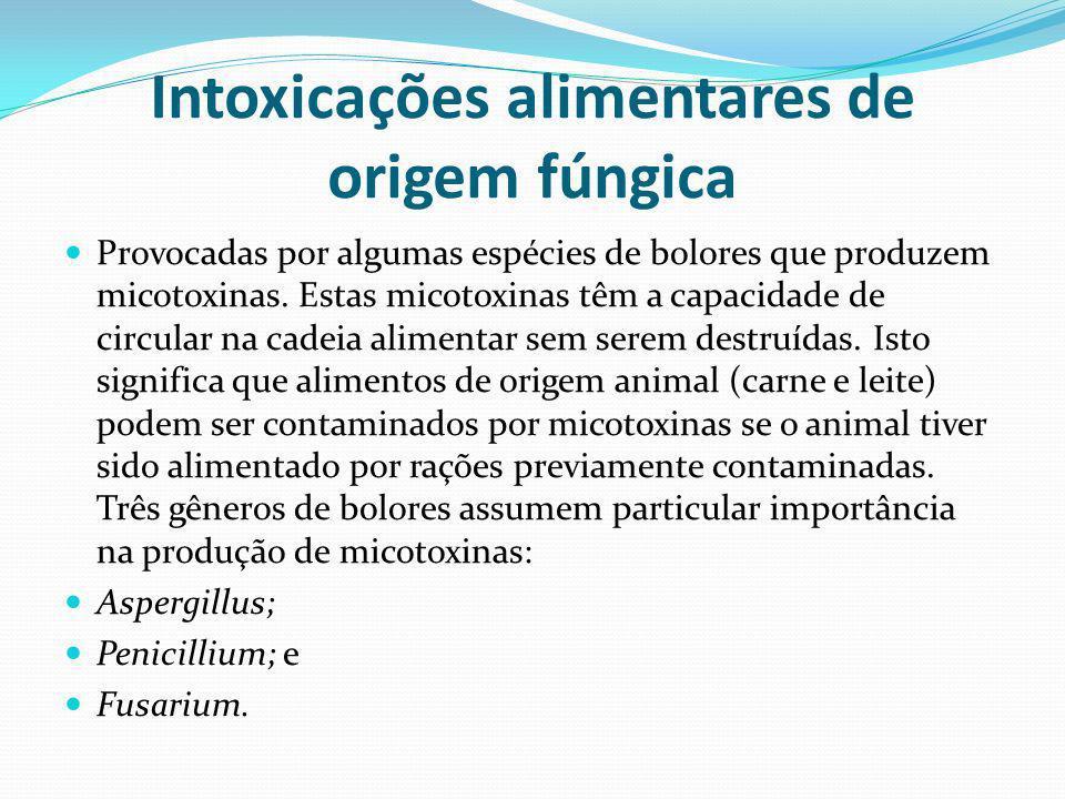Intoxicações alimentares de origem fúngica