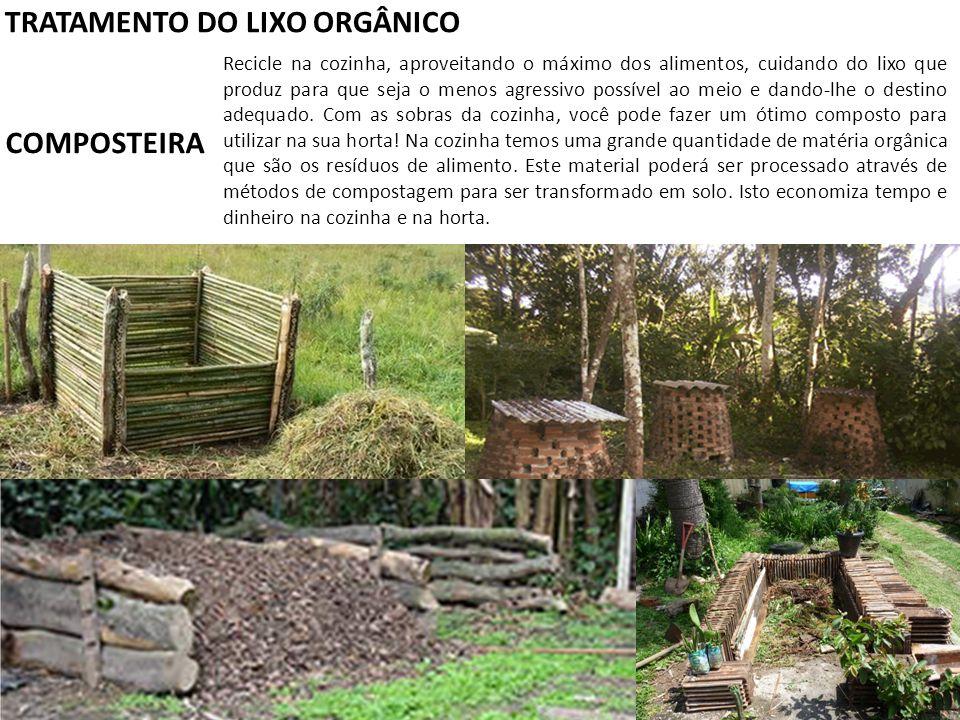 TRATAMENTO DO LIXO ORGÂNICO