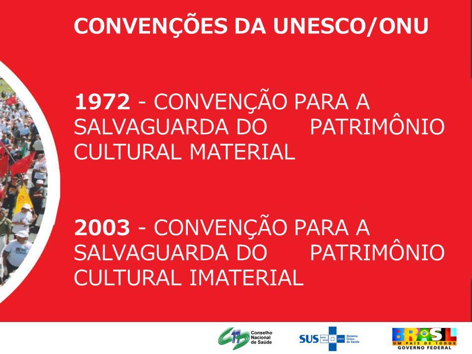 CONVENÇÕES DA UNESCO/ONU