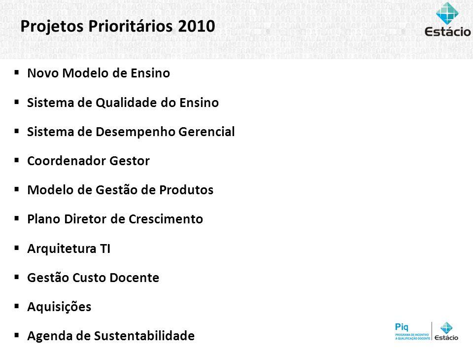 Projetos Prioritários 2010