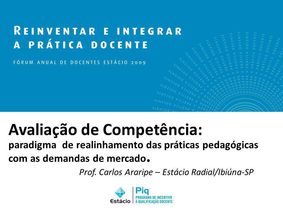 Avaliação de Competência: paradigma de realinhamento das práticas pedagógicas com as demandas de mercado.