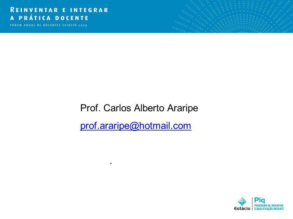 Prof. Carlos Alberto Araripe