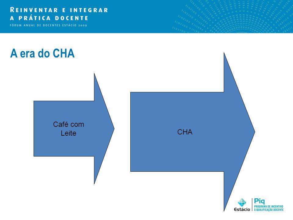 A era do CHA CHA Café com Leite